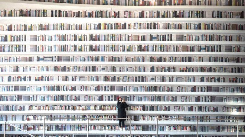 Čuvena kineska futuristička biblioteka je pomalo lažna