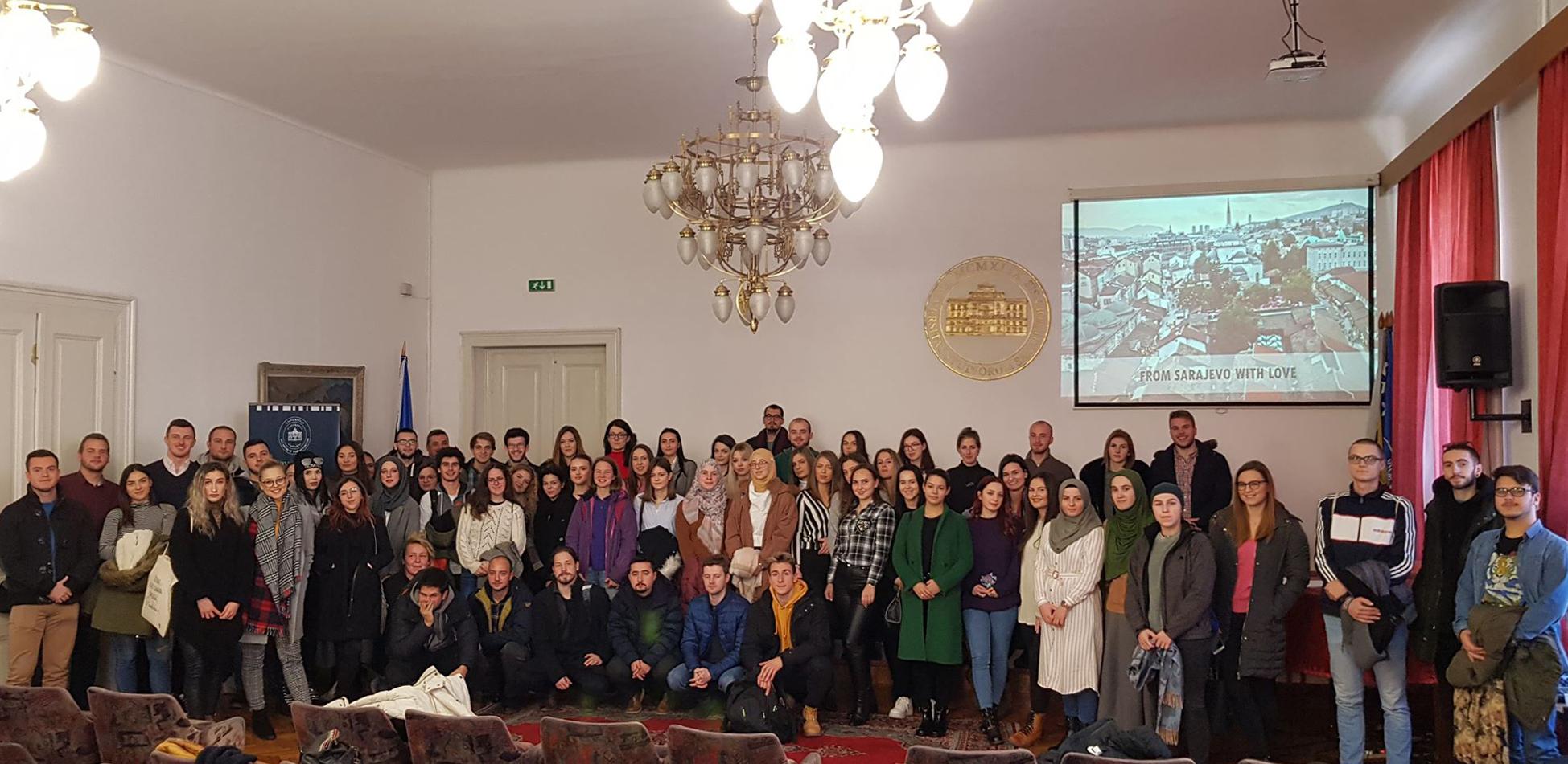 Univerzitet u Sarajevu u zimskom semestru 2019/2020. godine šalje u akademsku razmjenu 153 studenta