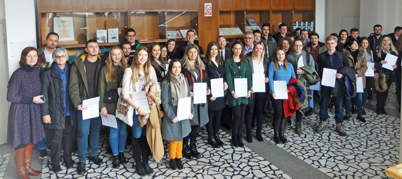 Na Mašinskom fakultetu dodijeljene nagrade i priznanja najuspješnijim studentima u akademskoj 2018/2019. godini