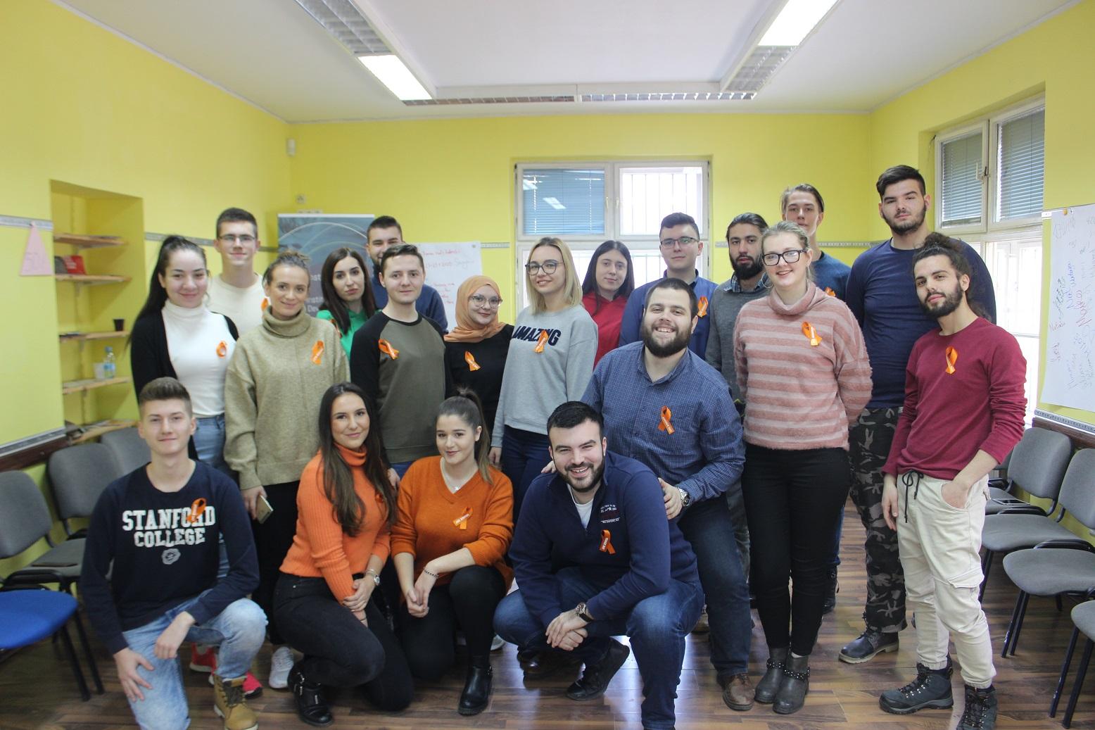 Mladi iz cijele BiH obilježili Narandžasti dan