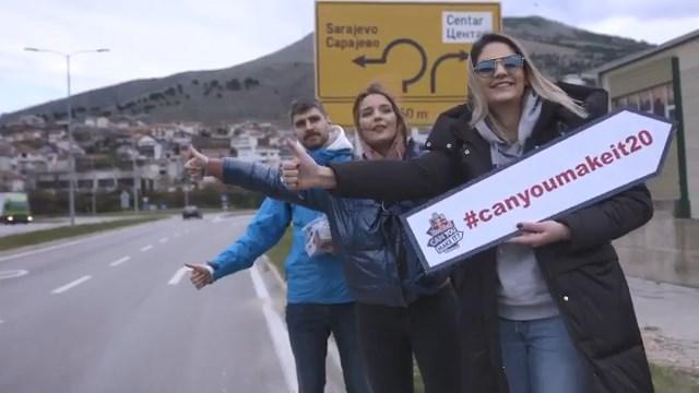 Mia i njen tim putovali od Mostara do Sarajeva bez novca, plaćali limenkama