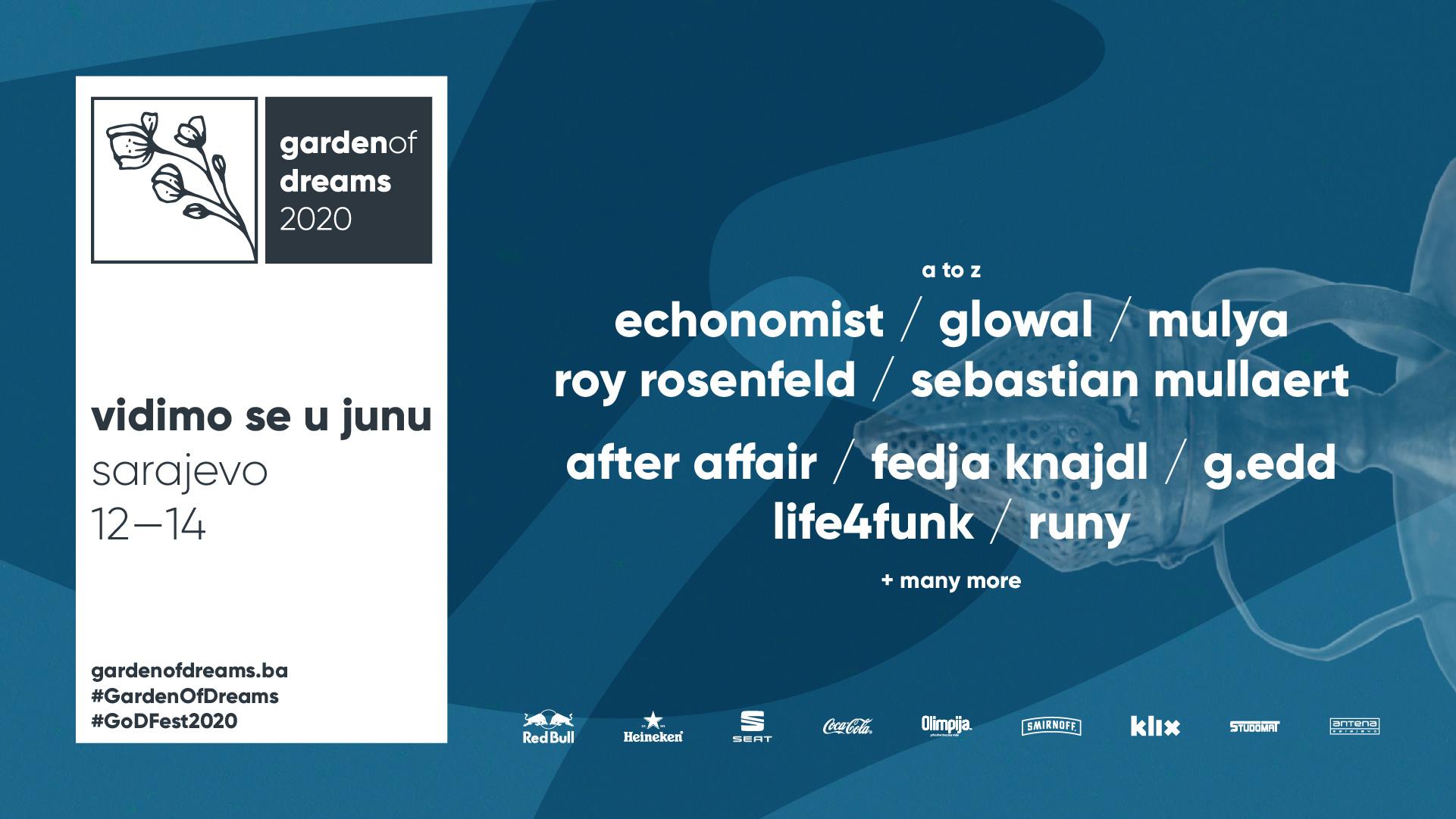 Prva faza lineupa: 10 veličanstvenih koji će zapaliti plesni podij drugog Garden of Dreams festivala