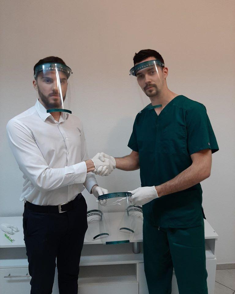 HAS Robotics umjesto robotskih ruku proizvodi zaštitne maske za medicinare