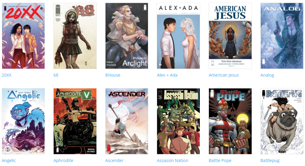 Izdavačka kuća Image Comics otključala 133 stripa za besplatno čitanje online