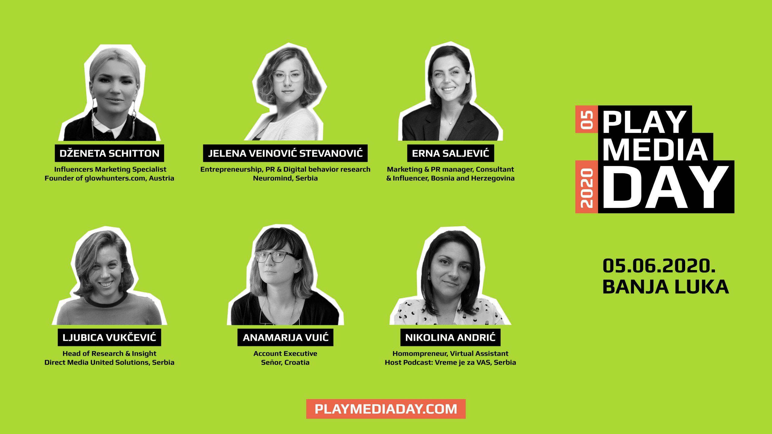 Poznato novih 6 imena koja dolaze na 5. Play Media Day!