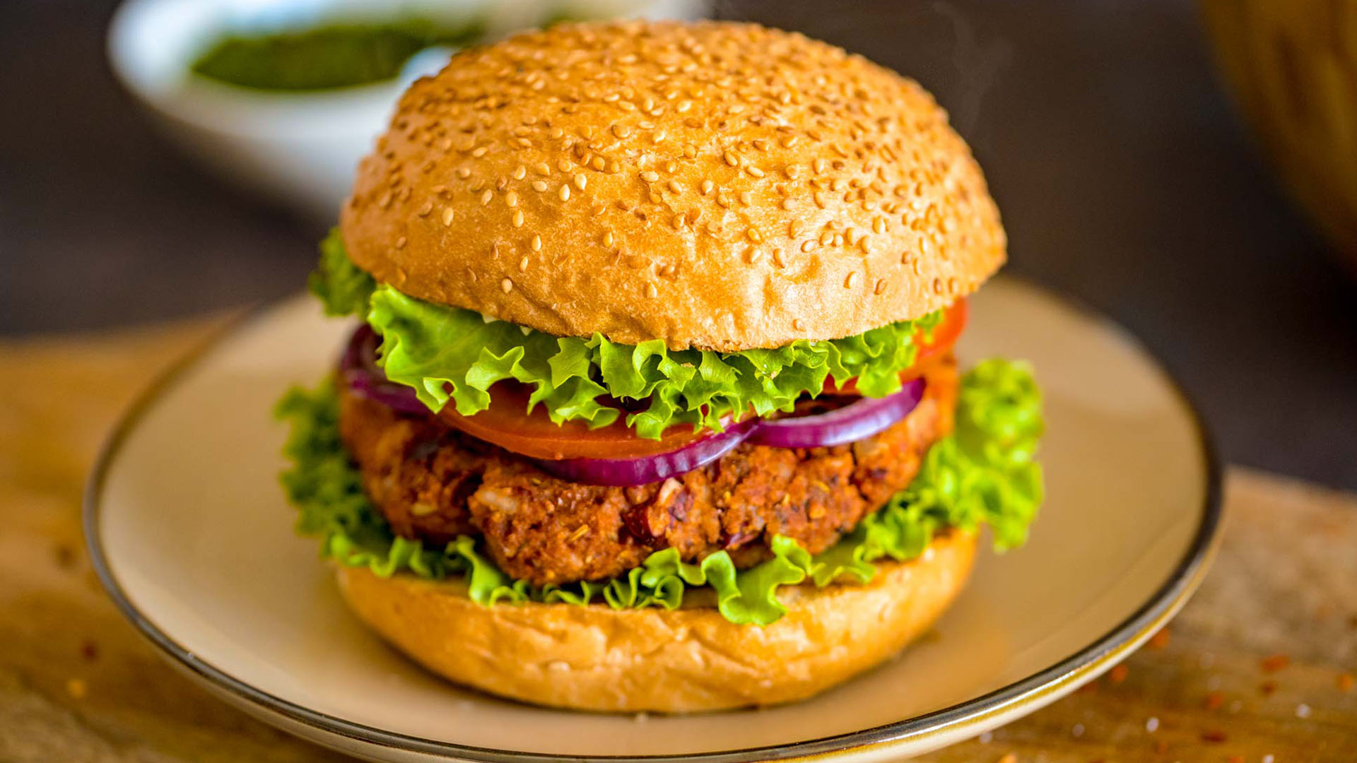 Studentski recepti: Veganski burger