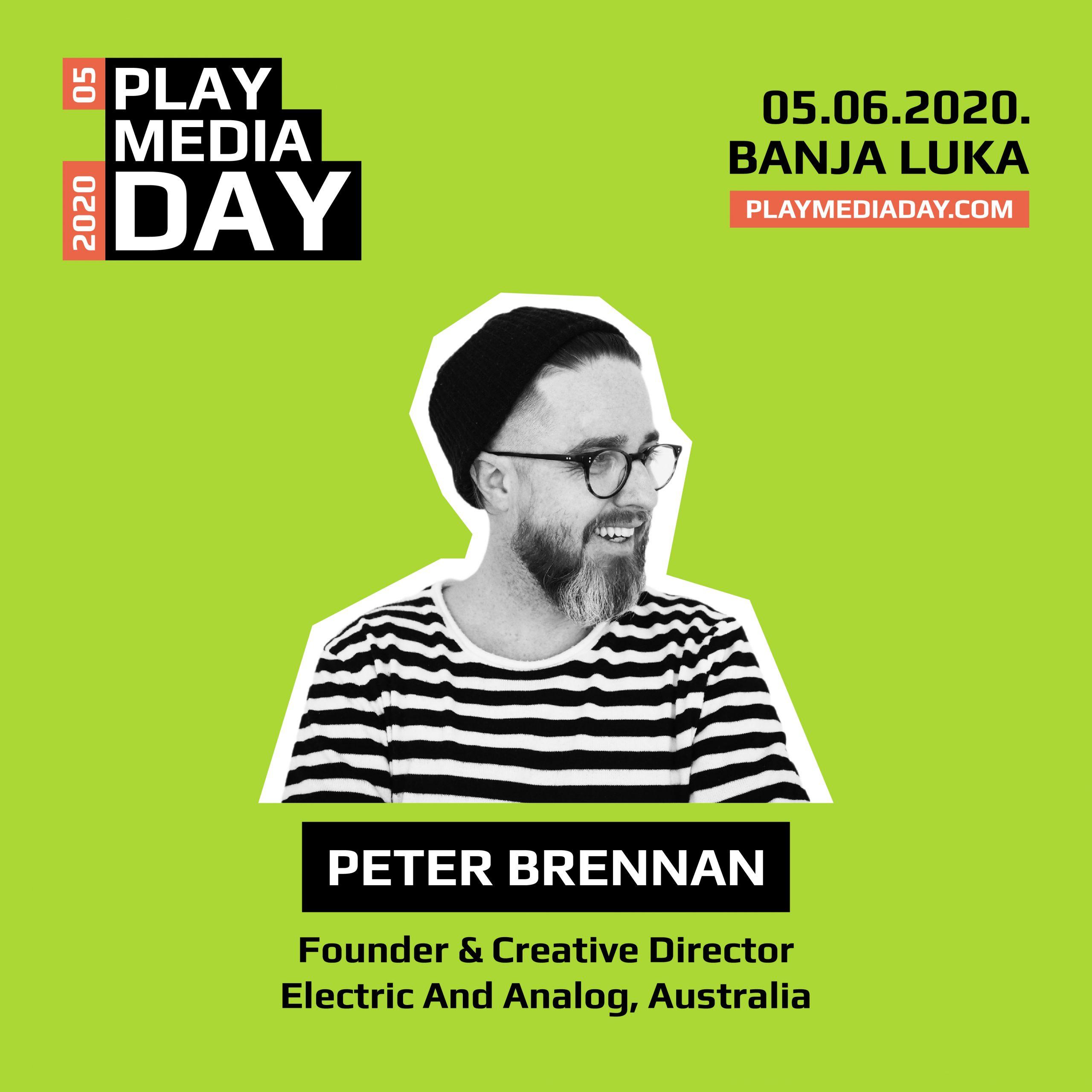 """Peter Brennan: """"Ako je ikada bilo pravo vrijeme za rebrendiranje, to je upravo sada – kada je cijeli svijet u hibernaciji"""""""