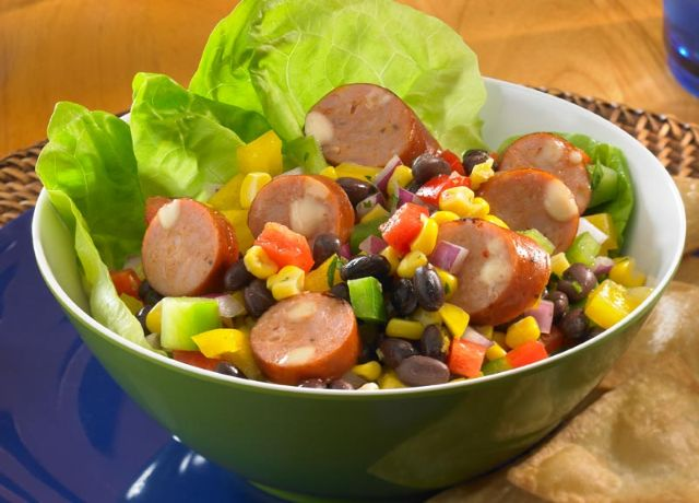 Studentski recepti: Salata s hrenovkama