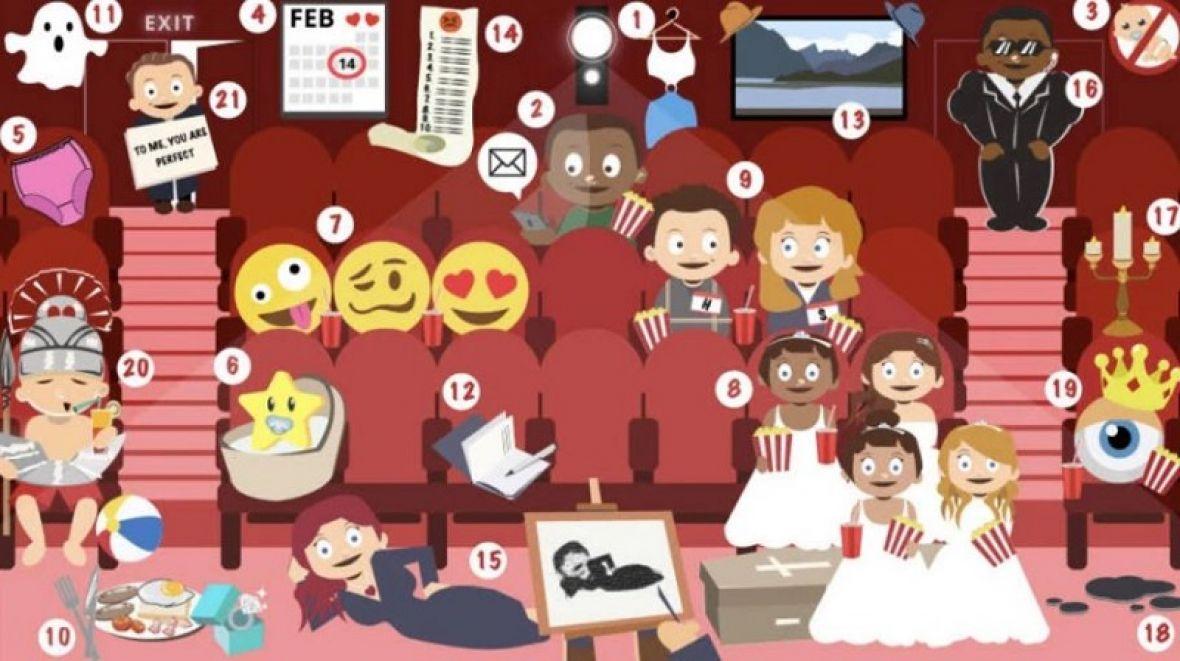 Koliko filmova vidite na ovoj ilustraciji? Rijetki će prepoznati više od 15