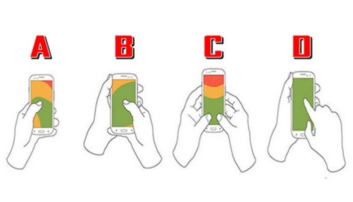 Otkrijte više o sebi: Na koji način držite mobitel?
