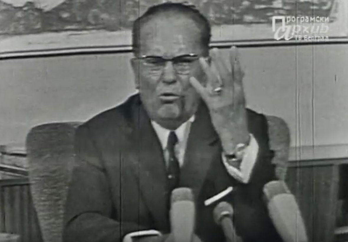 Video o kojem se i danas priča: Kako je Tito govorio studentima 1968.