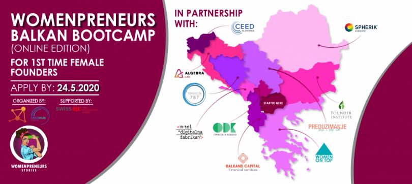 """Prijavite se na """"Womenpreneurs Balkan Bootcamp"""""""
