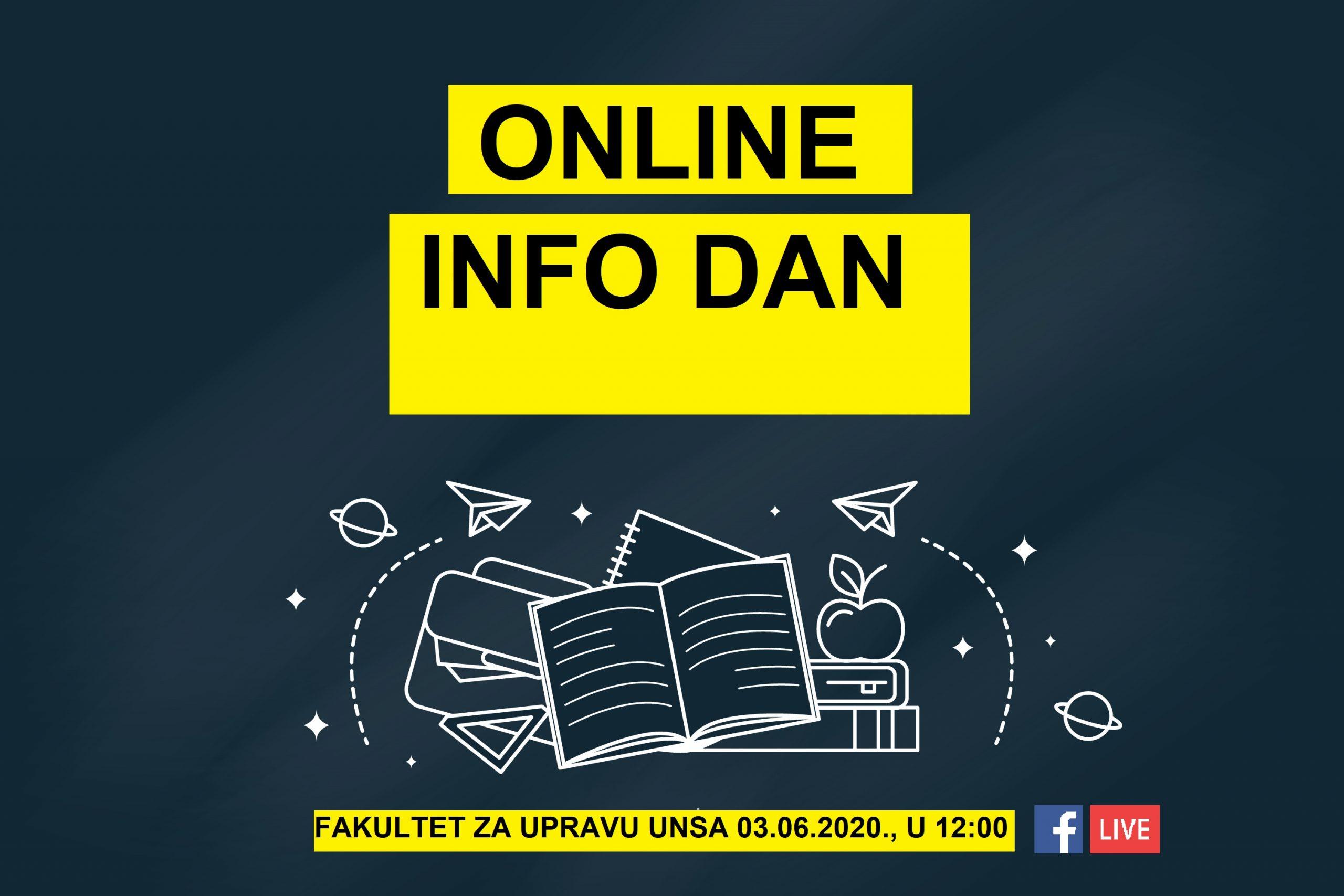 Fakultet za upravu Univerziteta u Sarajevu danas organizuje online info dan