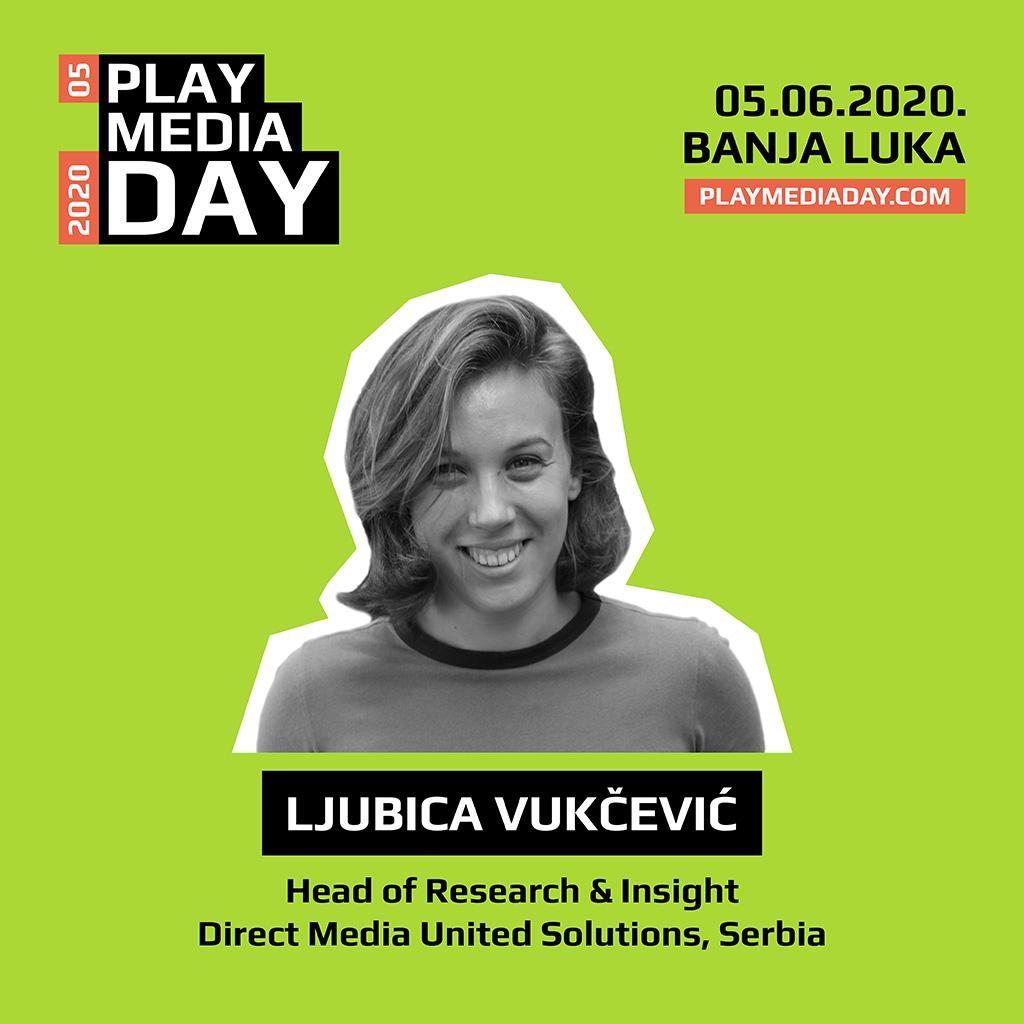 Ljubica Vukčević na Play Media Day 05 online konferenciji 05. juna: Manjak resursa, najčešće novca, nas tjera da budemo beskrajno kreativni i domišljati