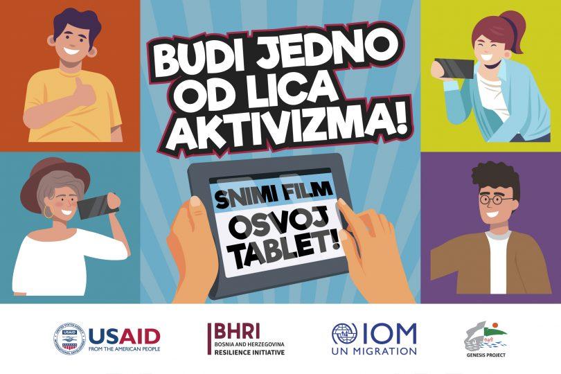 Sva lica aktivizma: Snimite film i osvojite tablet!