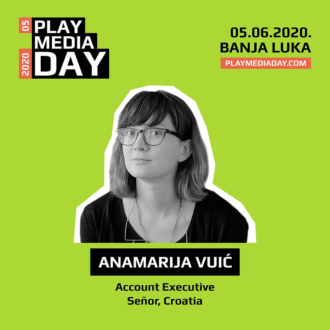 Anamarija Vuić: Voljela bih da mjerilo kvalitete postane kreativnost sa usmjerenjem na dugoročne rezultate