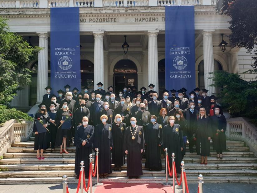 Univerzitet u Sarajevu promovirao 38 doktora nauka