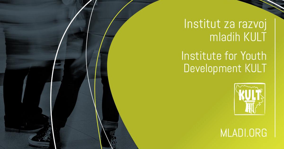 Institut za razvoj mladih KULT zapošljava: Otvoren je konkurs za devet radnih mjesta