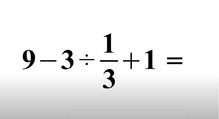 Možete li tačno riješiti ovaj naizgled jednostavan matematički zadatak?