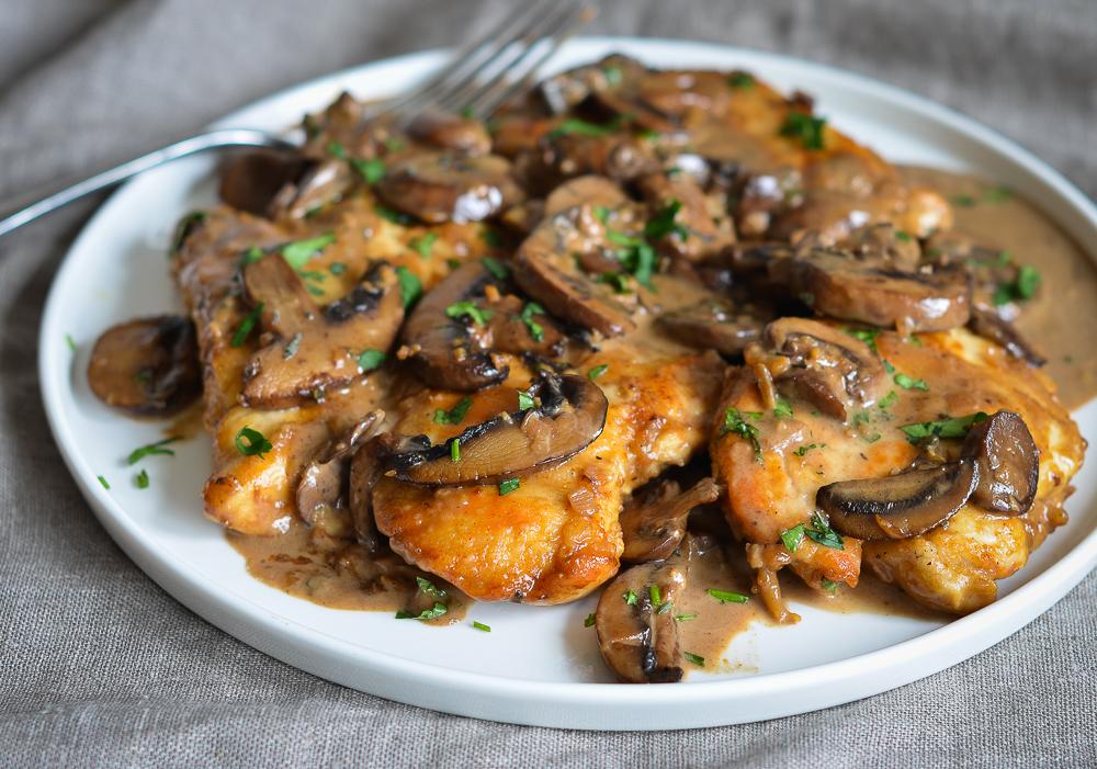 Studentski recepti: Pileći fileti sa gljivama