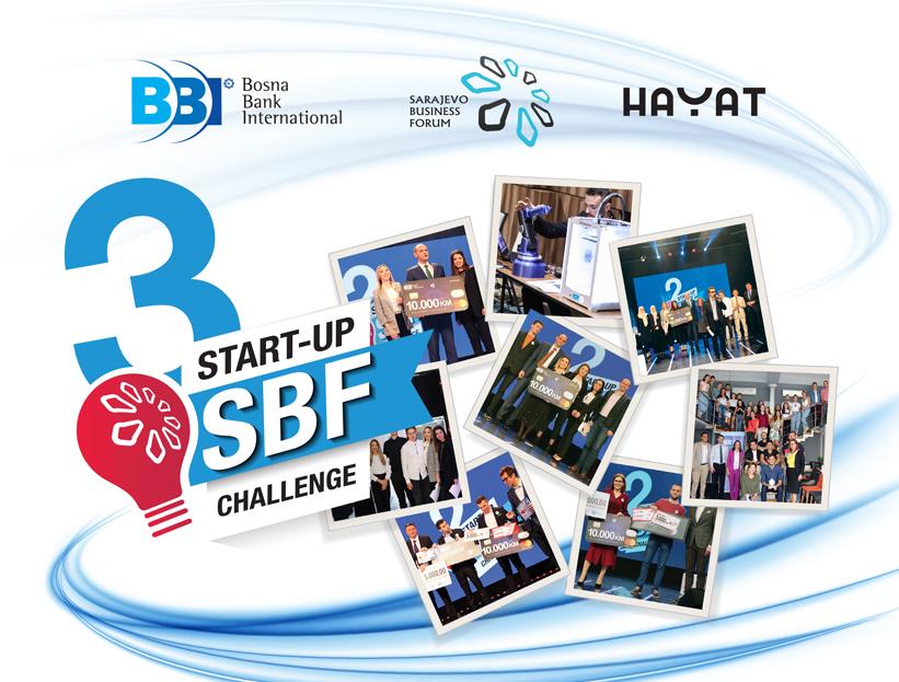 """Počinje treća sezona TV takmičenja """"Sarajevo Business Forum – SBF Start-up Challenge"""""""