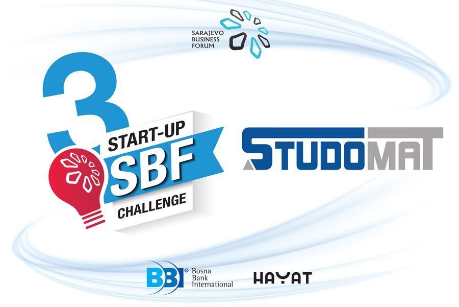 Vodeći studentski portal – STUDOMAT medijski pokrovitelj SBF Start-up Challenge
