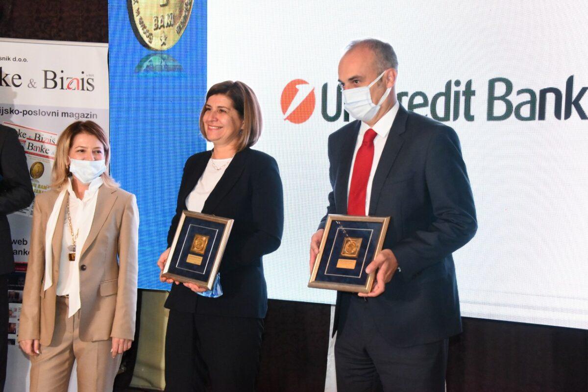 Priznanje za najbolju mobilnu aplikaciju UniCredit Bank