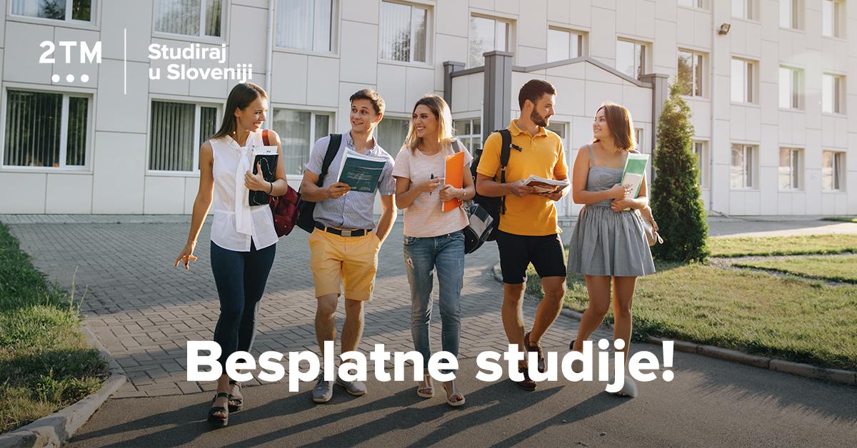 Slovenija – besplatna studentska destinacija