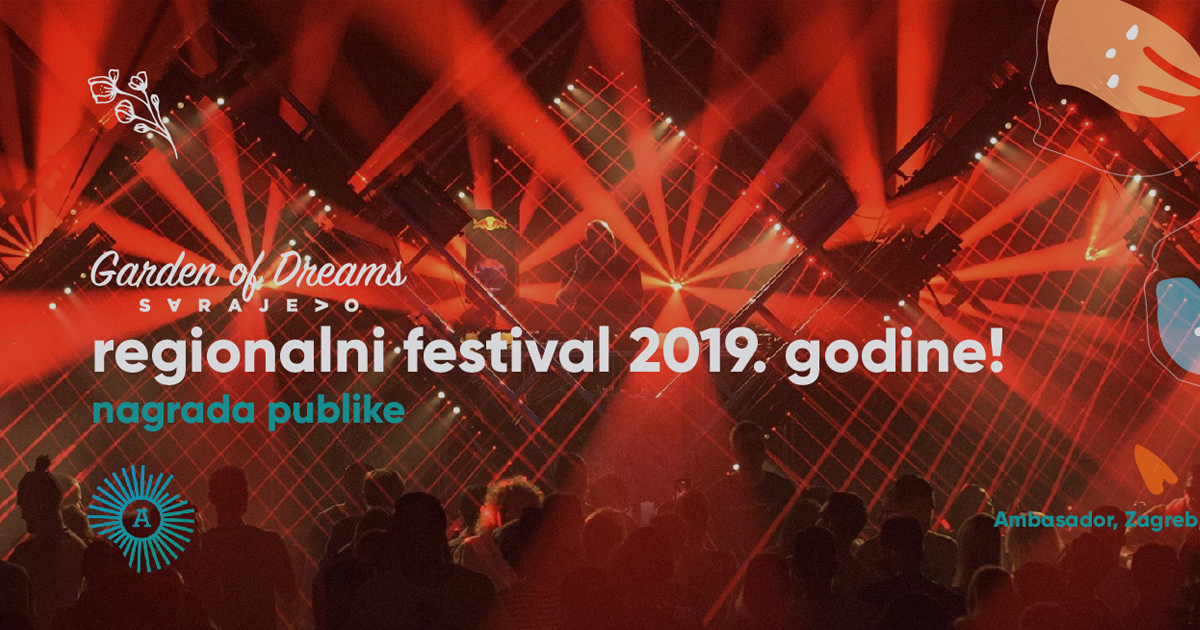 Kad snovi postanu stvarnost:  Garden of Dreams najbolji regionalni festival elektronske muzike