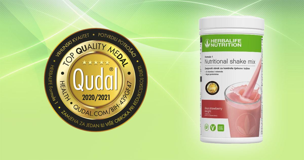 QUDAL – certifikat kvaliteta za Herbalife Nutrition
