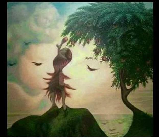 Kako vam mozak radi? Koliko lica vidite na ovoj ilustraciji?