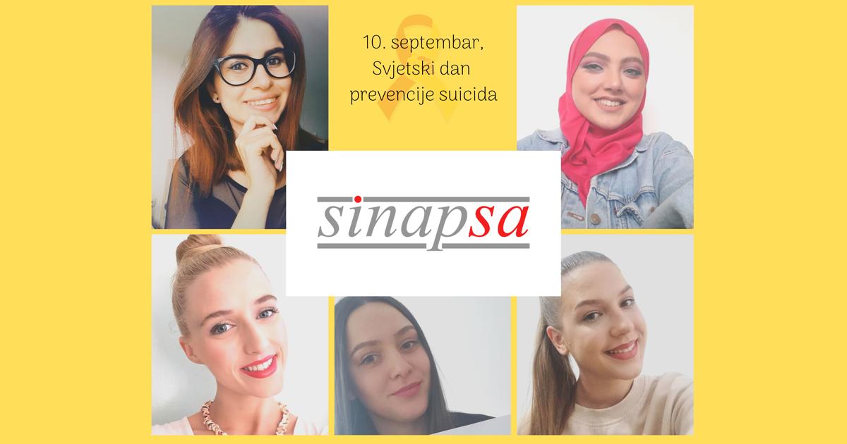"""Svjetski dan prevencije suicida (WSPD): Udruženje studenata psihologije """"SINAPSA"""" kreiralo mini priručnik"""