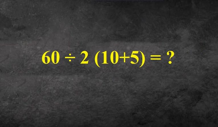 Jednostavan zadatak koji mnogo ljudi riješi krivo jer ne paze, vidite li rješenje?