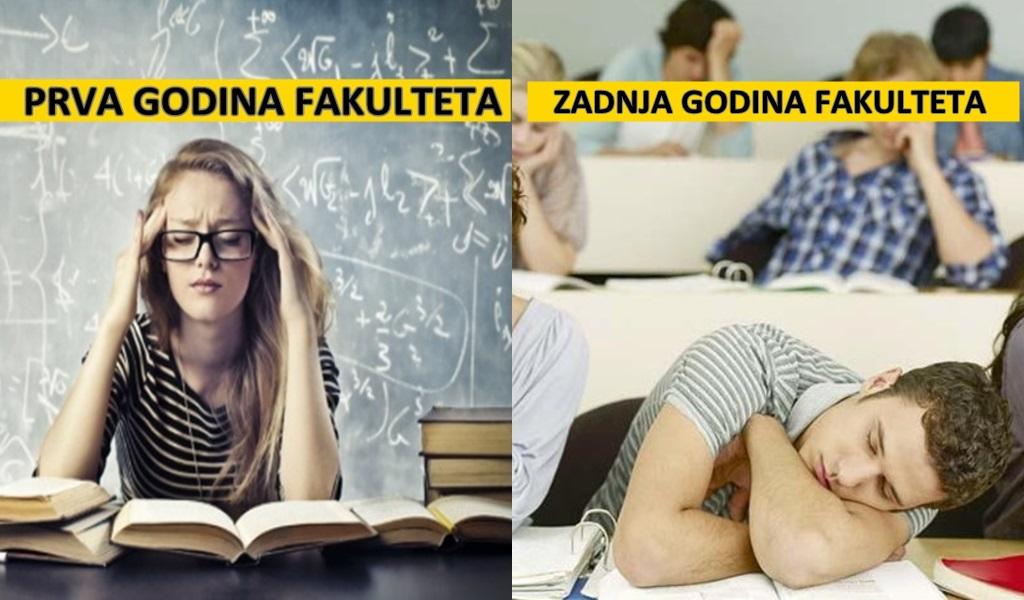 Dva lica studiranja: Kada početno oduševljenje zamijenimo s 'nije me briga'