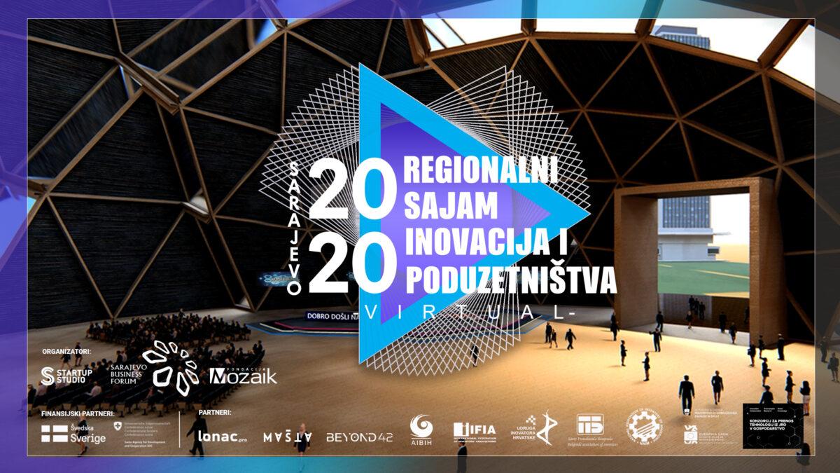 """Promotivnim videom najavljen regionalni virtualni Sajam inovacija i poduzetništva """"Sarajevo 2020"""":"""