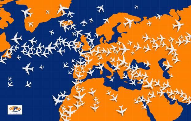 Pronađite avion koji jedini leti u suprotnom smjeru