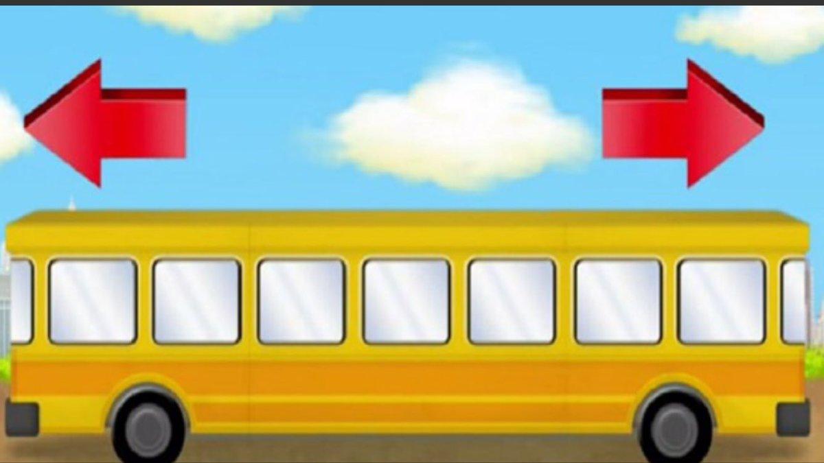 U kojem pravcu se kreće autobus?