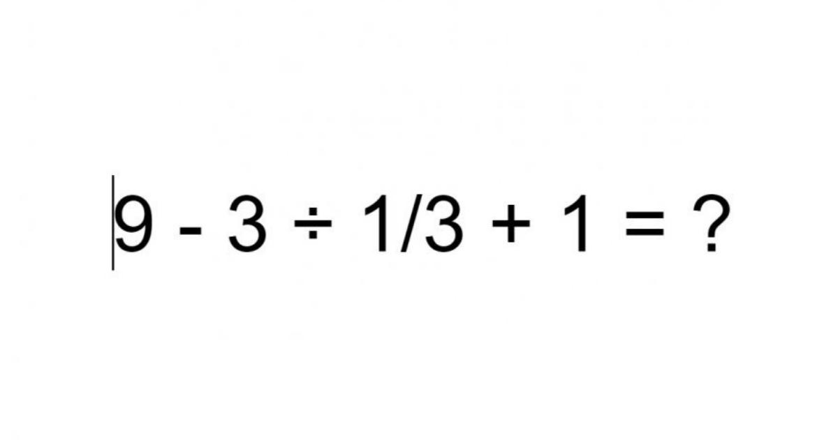 Ovaj zadatak zna riješiti sve manje mladih: Jeste li vi bolji matematičar od njih?