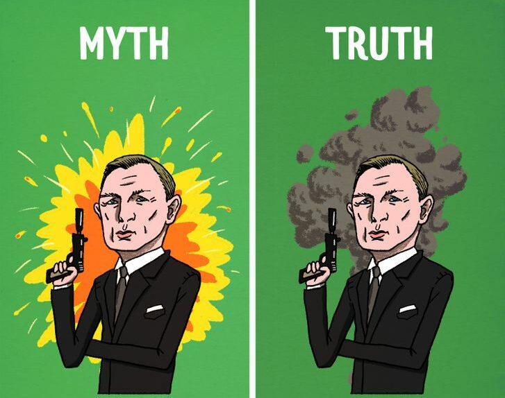 10 laži u koje vjerujemo zahvaljujući filmovima