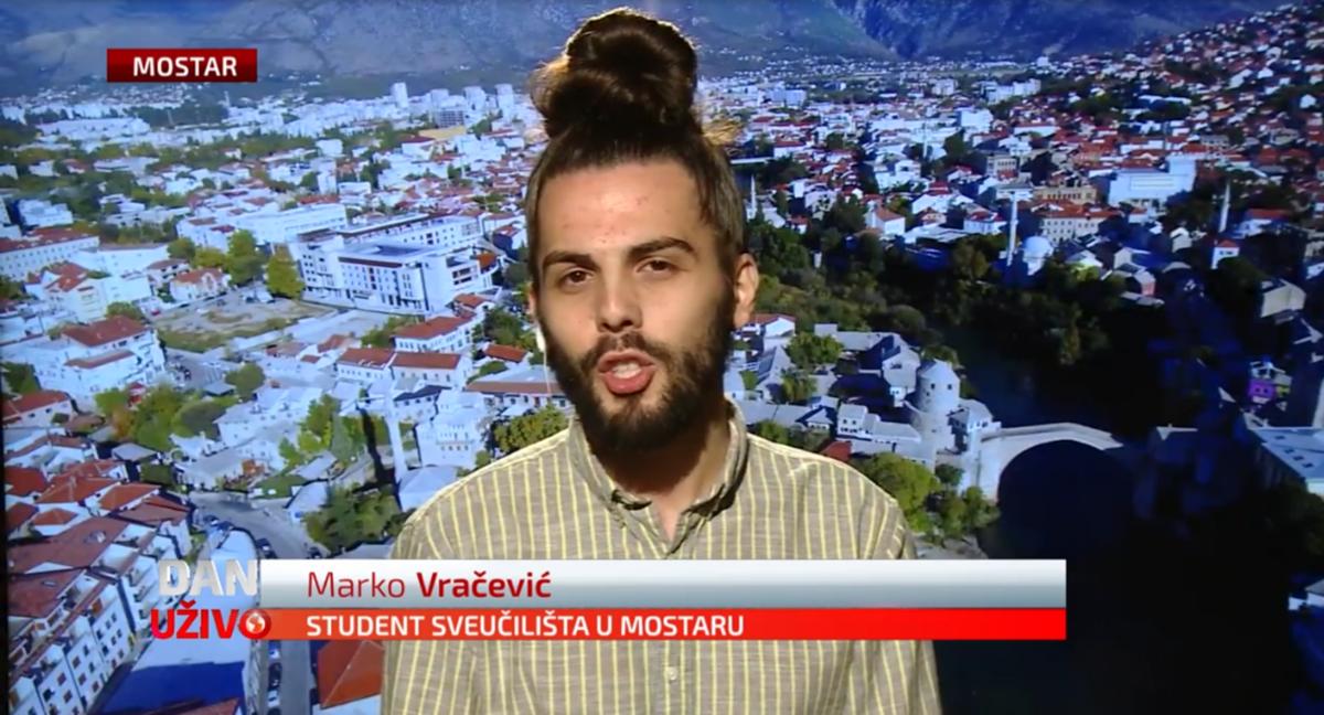 Student iz Mostara poručio: Online nastava se nije pokazala funkcionalna, studenti nisu bankomati