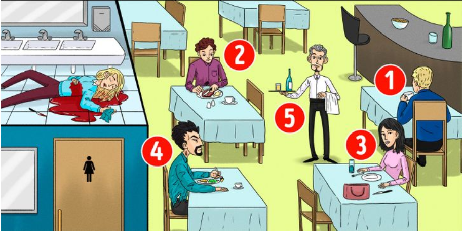 Detektivska mozgalica: Možete li na osnovu slike zaključiti ko je ubica?