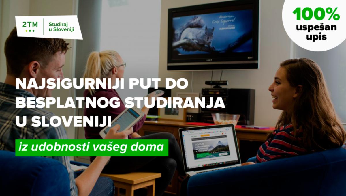 Besplatne studije u Sloveniji: Prvi rok za prijavu počinje u februaru