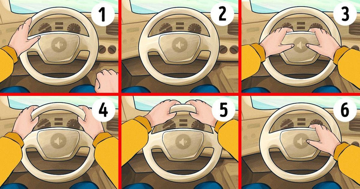 Šta način na koji držite volan govori o vama?