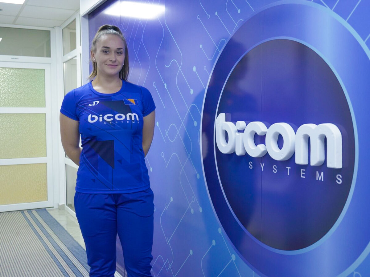 Mediha Salkić potpisala sponzorski ugovor sa kompanijom Bicom Systems
