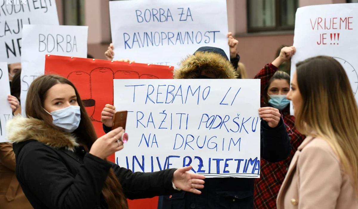 Nakon protesta: Zenički studenti dobili obećanje o produženju upisnih rokova