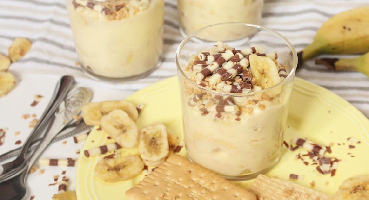 Studentski recepti: Banana desert u čaši