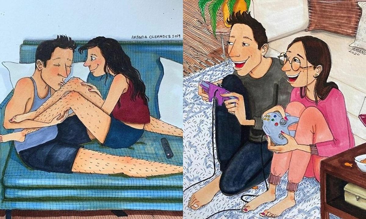 Ove ilustracije na iskren način prikazuju šta se događa u svakoj ozbiljnoj vezi ili braku