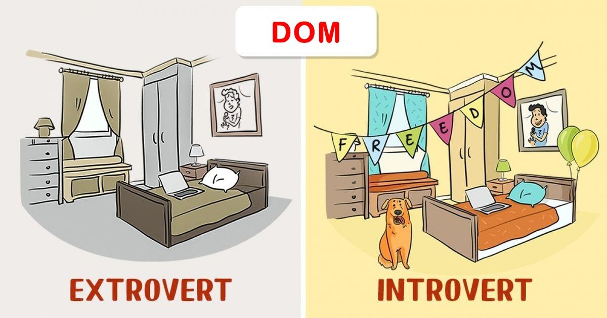 Da li ste introvert ili ekstrovert? Provjerite na ovim ilustracijama