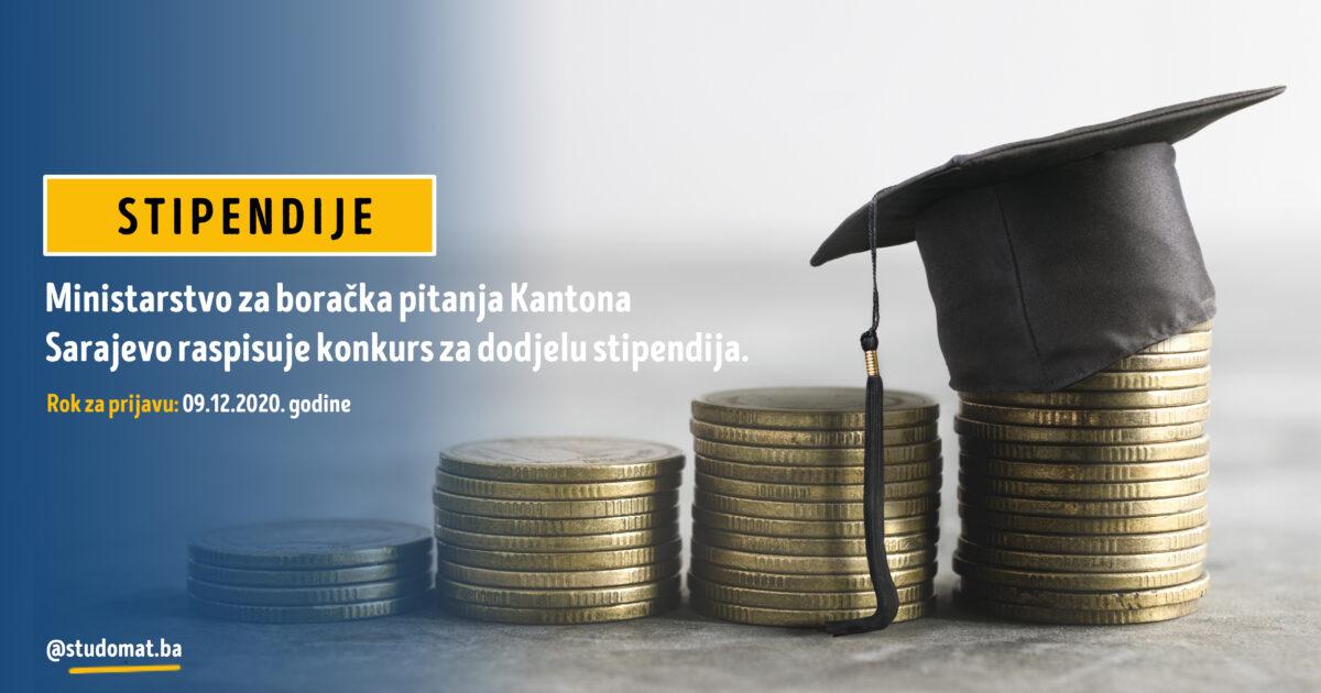 Kanton Sarajevo: Konkurs za dodjelu stipendija za akademsku 2020/2021. godinu