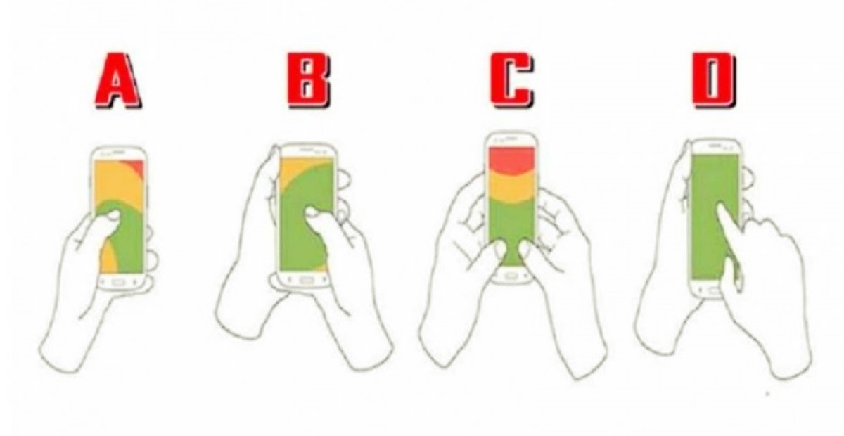 Zanimljiv test: Način na koji držite mobitel otkriva vaš karakter